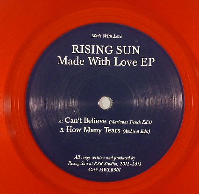 RISING SUN - Made With Love EP
