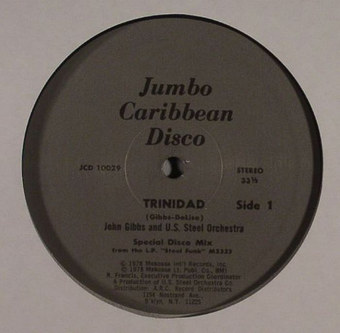 GIBBS, John/THE US STEEL ORCHESTRA - Trinidad