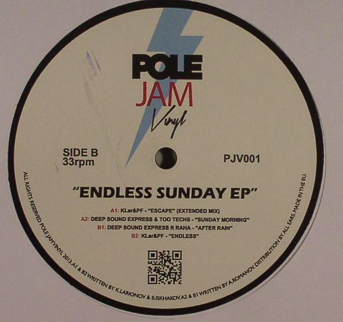 DEEP SOUND EXPRESS/KLAR & PF - Endless Sunday EP