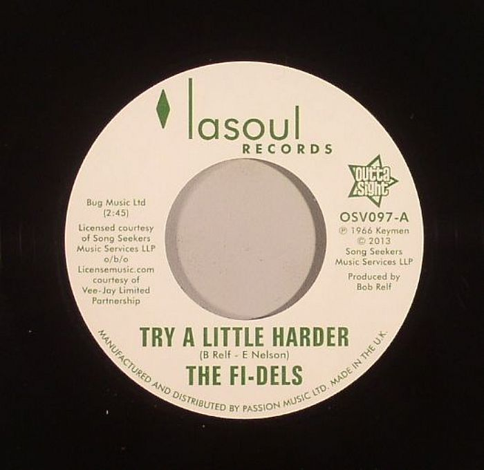 FI DELS, The - Try A Little Harder