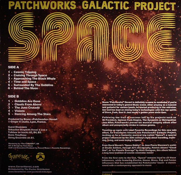 PATCHWORKS GALACTIC PROJECT - Space