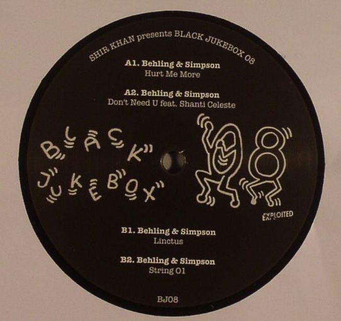 BEHLING & SIMPSON - Shir Khan Presents Black Jukebox 08