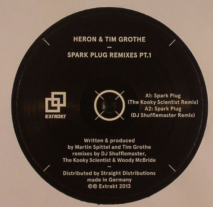 HERON/TIM GROTHE - Spark Plug Remixes Part 1