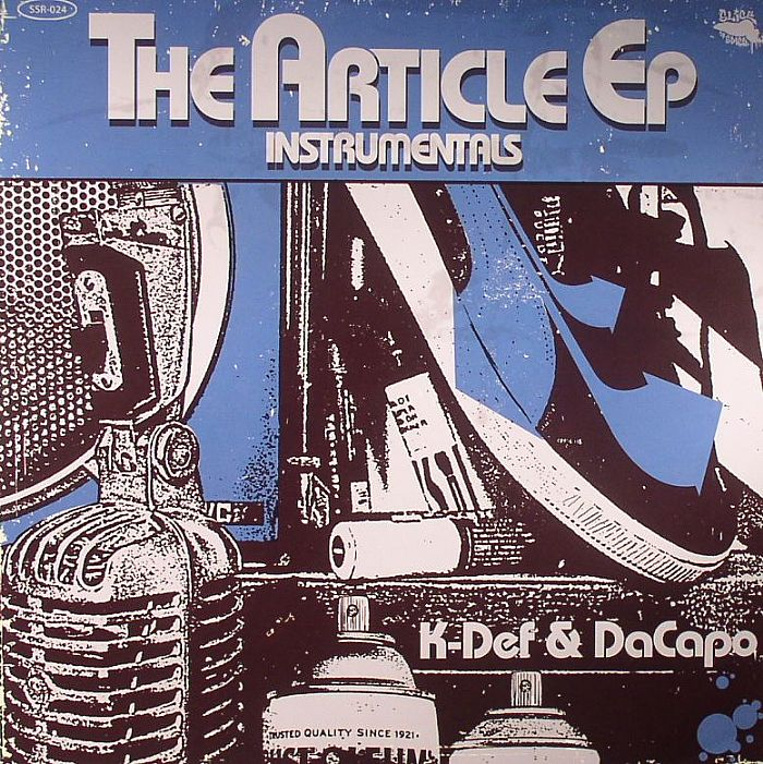 K DEF/DACAPO - The Article EP Instrumentals