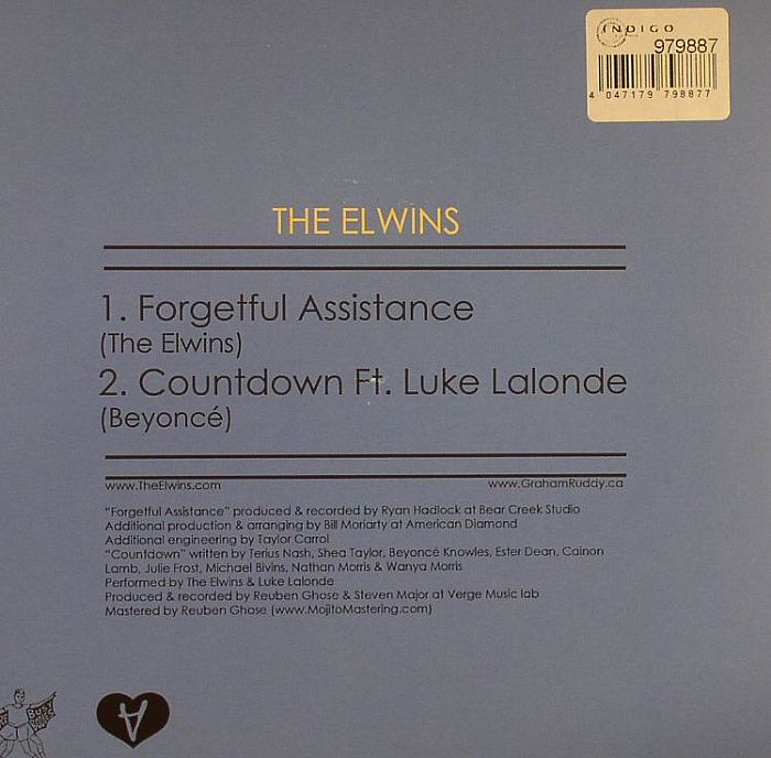 ELWINS, The - Forgetful Assistance