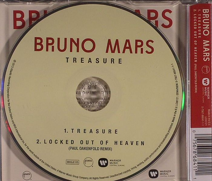 bruno mars treasure vinyl at juno records. Black Bedroom Furniture Sets. Home Design Ideas