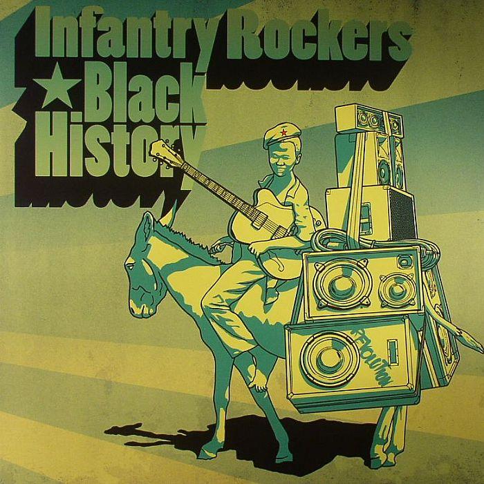 INFANTRY ROCKERS - Black History