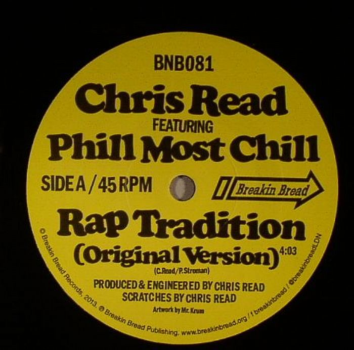 READ, Chris feat PHILL MOST CHILL - Rap Tradition