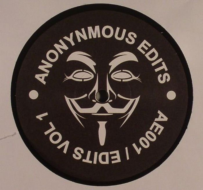 ANONYMOUS EDITS Edits Vol 1 Vinyl At Juno Records