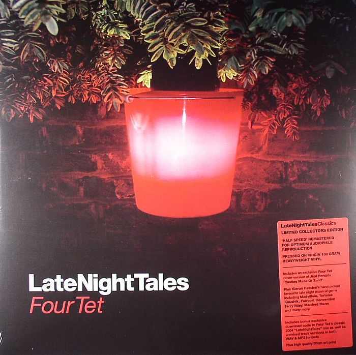 FOUR TET/VARIOUS - Late Night Tales (remastered)