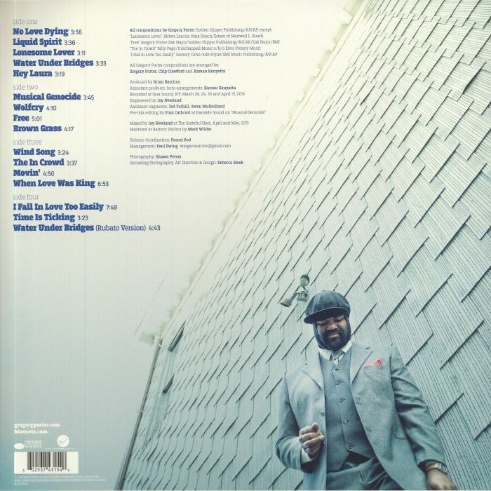 Gregory porter liquid spirit vinyl at juno records - Gregory porter liquid spirit album download ...