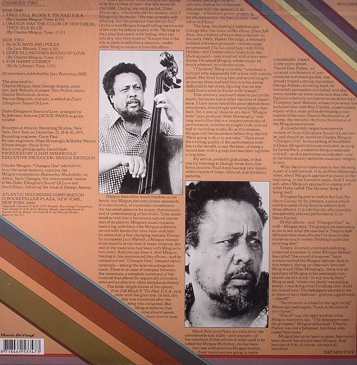 MINGUS, Charles - Changes Two