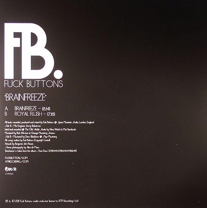 FUCK BUTTONS - Brainfreeze