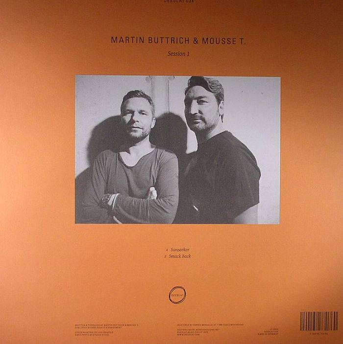 BUTTRICH, Martin & MOUSSE T - Session 1