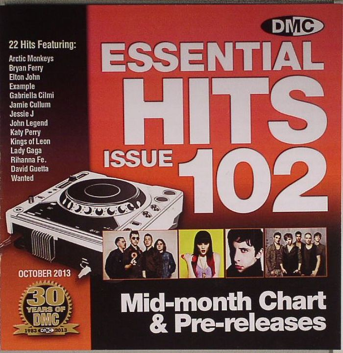 VARIOUS - Essential Hits 102 Mid Month Chart & Pre Releases (Strictly DJ Only)