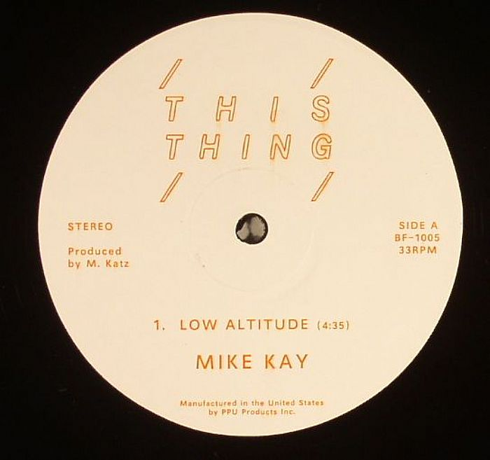KAY, Mike - Low Altitude