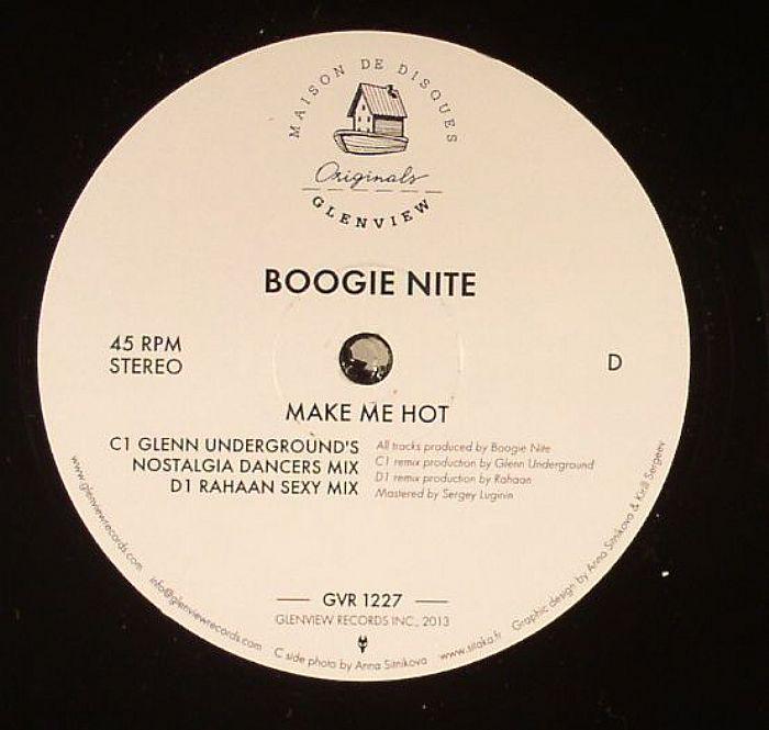 BOOGIE NITE - Make Me Hot (remixes)
