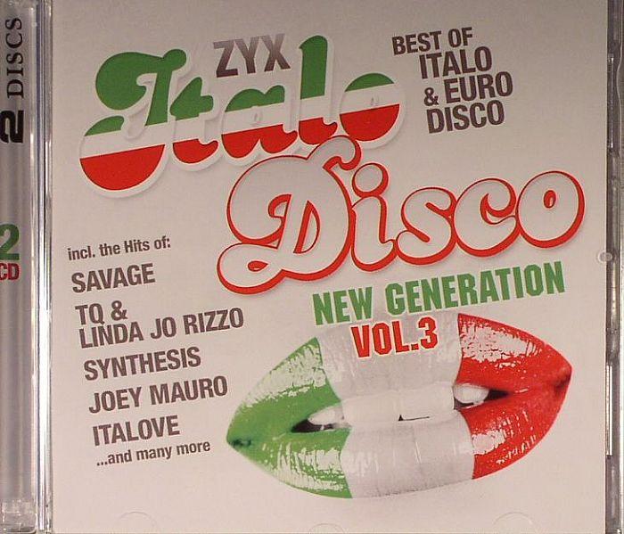 VARIOUS - ZYX Italo Disco New Generation Vol 3
