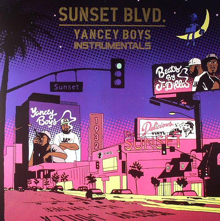 YANCEY BOYS aka J DILLA/FRANK NITT - Sunset Blvd: Instrumentals