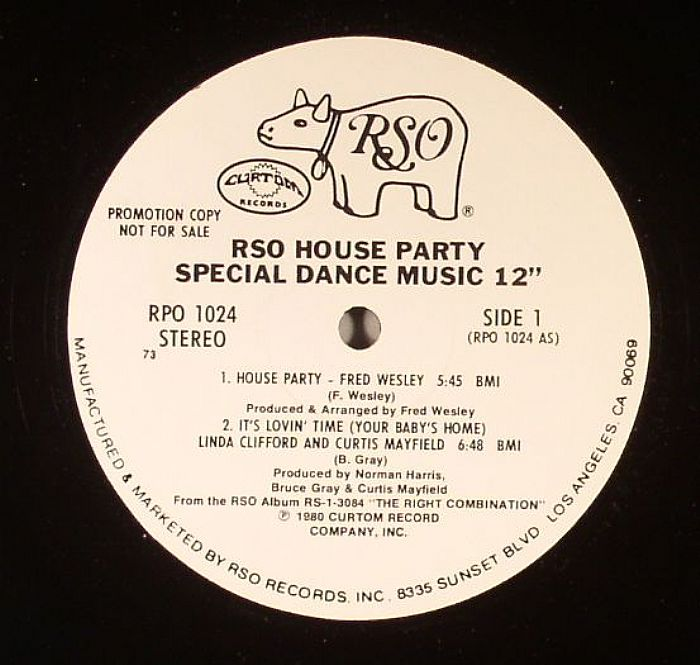 WESLEY, Fred/LINDA CLIFFORD/CURTIS MAYFIELD/TTF - RSO House Party