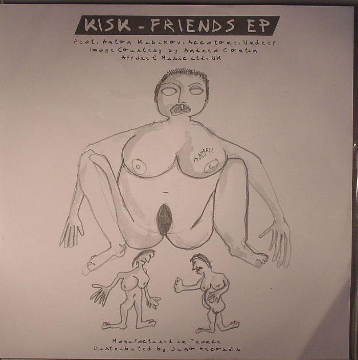 KISK/UNDEEP/ACCATONE - Friends EP