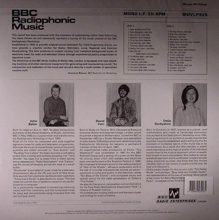 Bbc Radiophonic Workshop Bbc Radiophonic Music Vinyl At