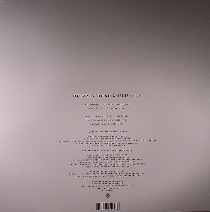 GRIZZLY BEAR - Shields: B Sides