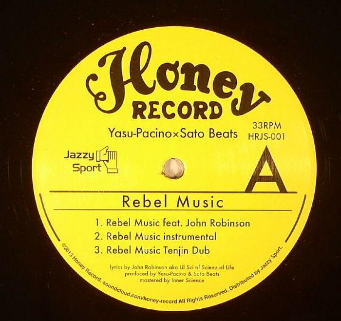 YASU PACINO/SATO BEATS - Rebel Music