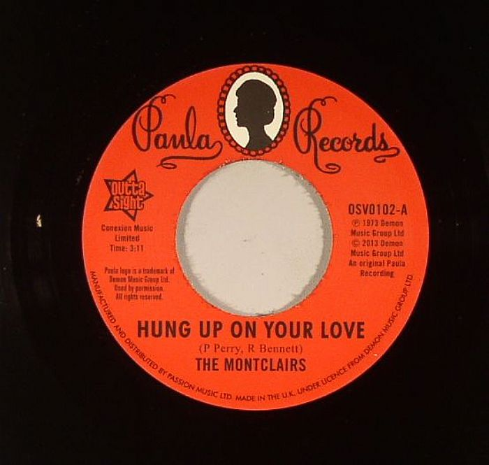 MONTCLAIRS, The - Hung Up On Your Love