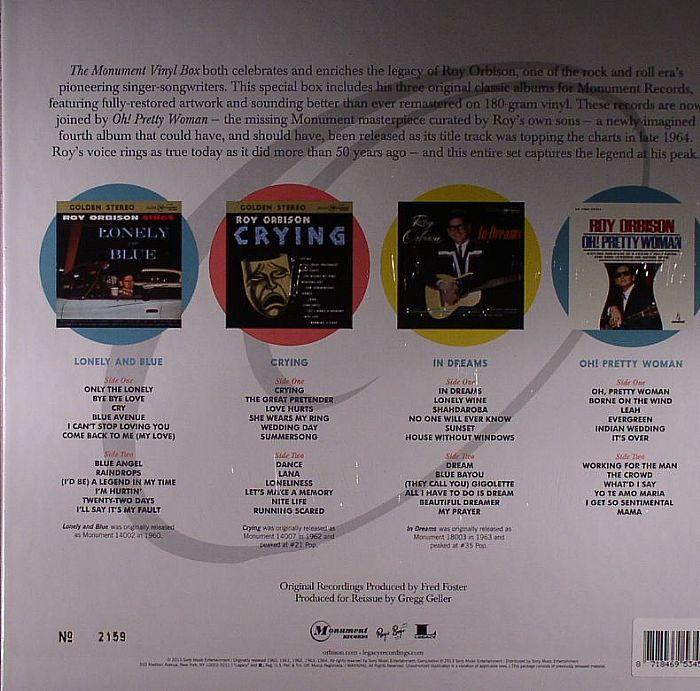 ORBISON, Roy - Monument Vinyl Box (Record Store Day Black Friday)