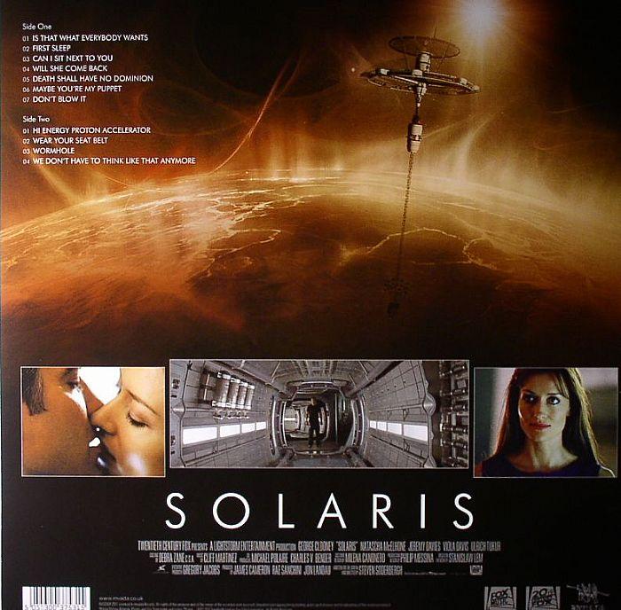 MARTINEZ, Cliff - Solaris (Soundtrack)