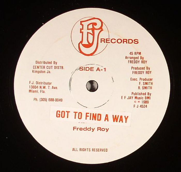 ROY, Freddy - Got To Find A Way