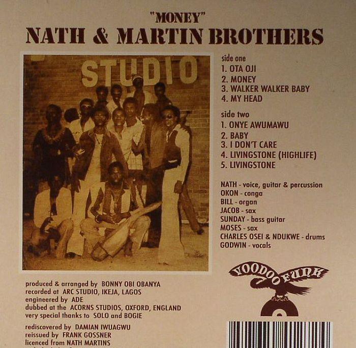 NATH & MARTIN BROTHERS - Money