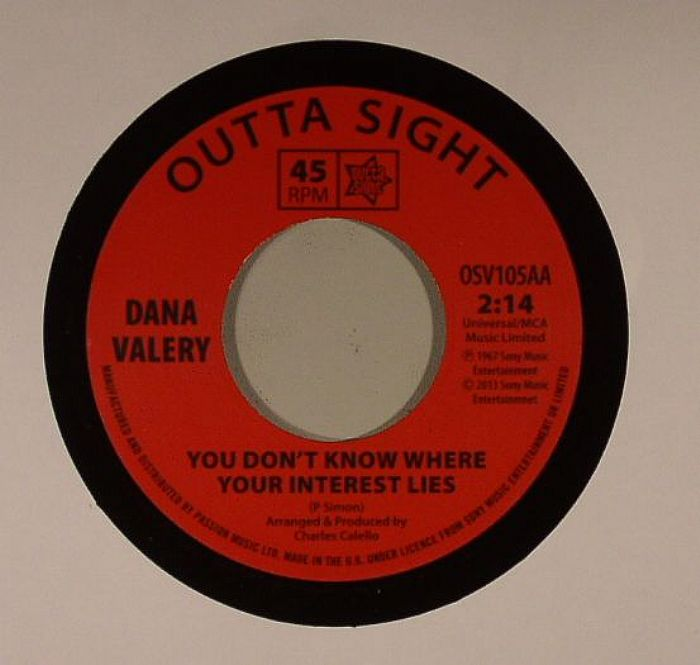 VALEY, Dana - You Don't Know Where Your Interest Lies