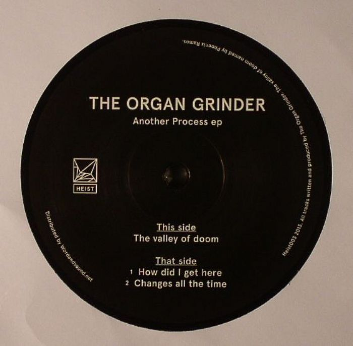 ORGAN GRINDER, The - Another Process EP