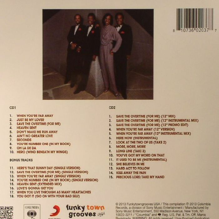 KNIGHT, Gladys & THE PIPS - Visions