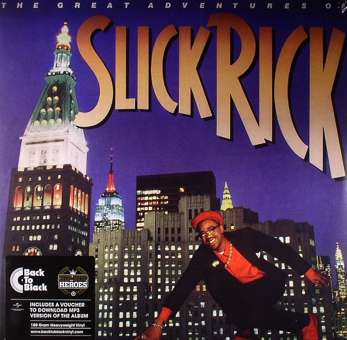 Slick Rick The Great Adventures Of Slick Rick Vinyl At