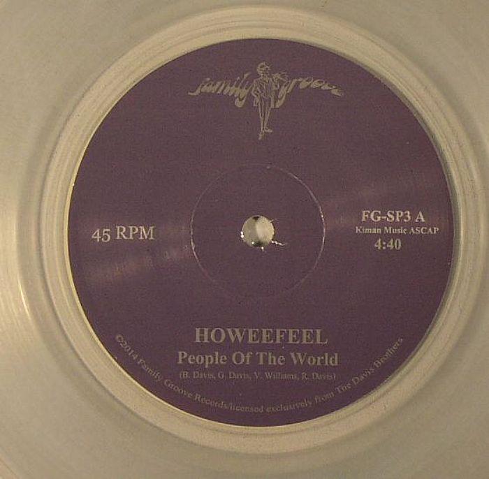 HOWEEFEEL - People Of The World (1 per customer)