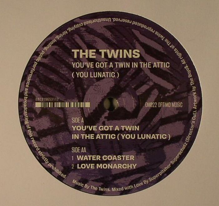 TWINS, The - You've Got A Twin In The Attic (You Lunatic)