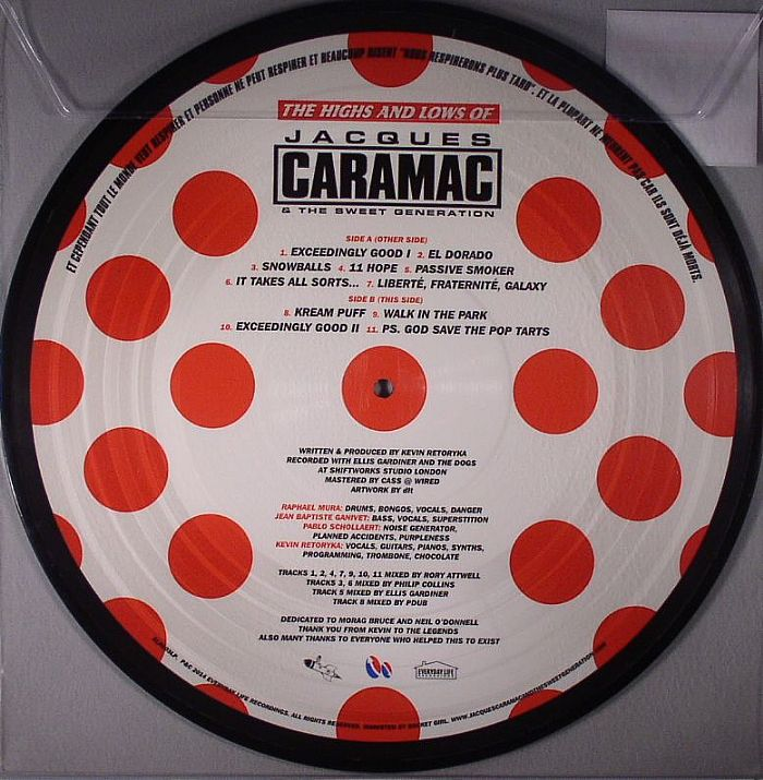 CARAMAC, Jacques/THE SWEET GENERATION - The Highs & Lows Of