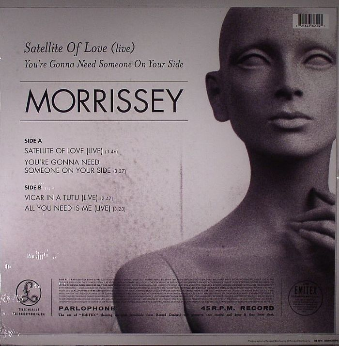 MORRISSEY - Satellite Of Love (live)