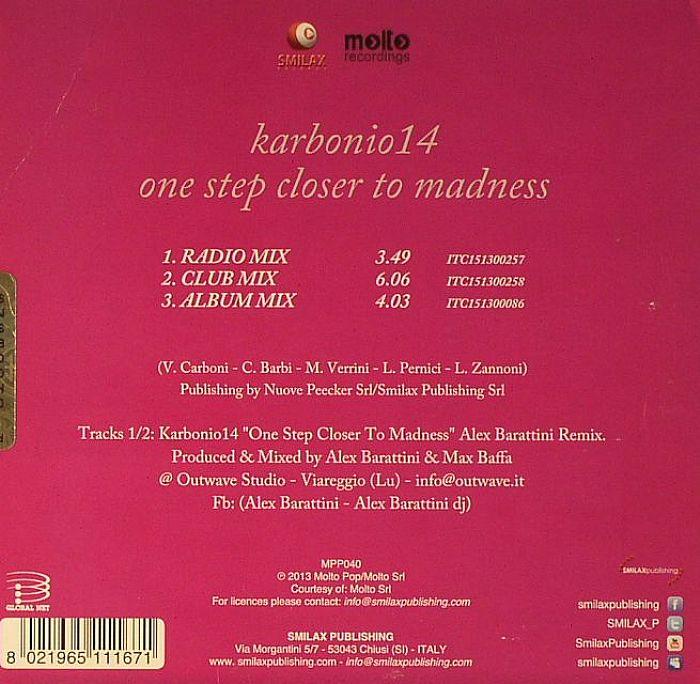 KARBONIO14 - One Step Closer To Madness