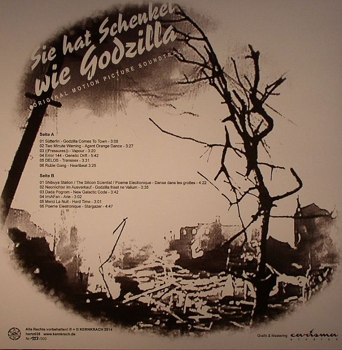 VARIOUS - Sie Hat Schenkel Wie Godzilla (Soundtrack)