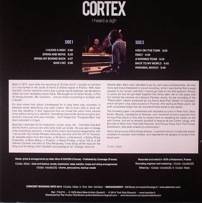 CORTEX - I Heard A Sigh
