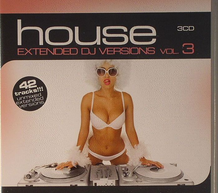 VARIOUS - House Extended DJ Versions Vol 3