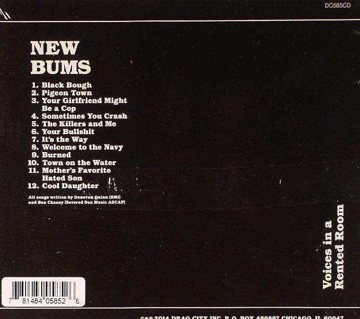 NEW BUMS - Voices In A Rented Room