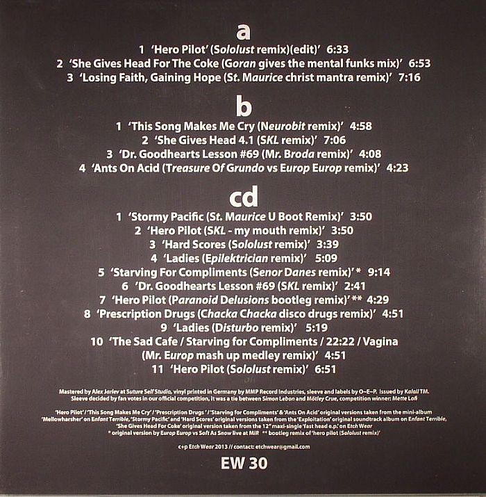 EUROP EUROP - Remix Hitparade