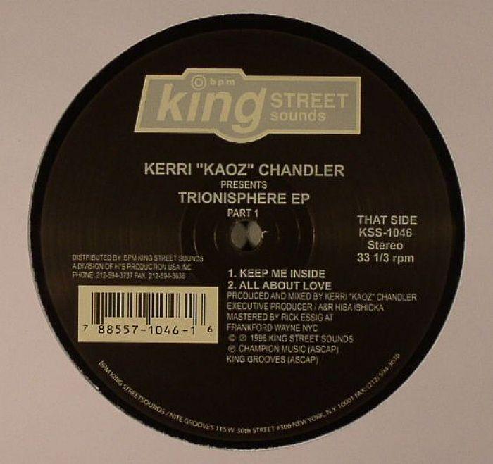 CHANDLER, Kerri - Trionisphere EP Part 1