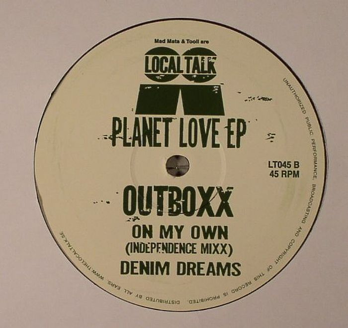 OUTBOXX - Planet Love EP