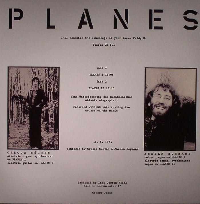 CURTEN, Gregor/ANSELM ROGMANS - Planes